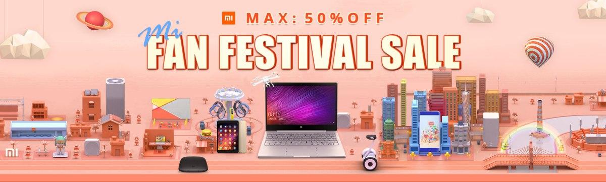 Xiaomi Mi Fan Festival su Gearbest!