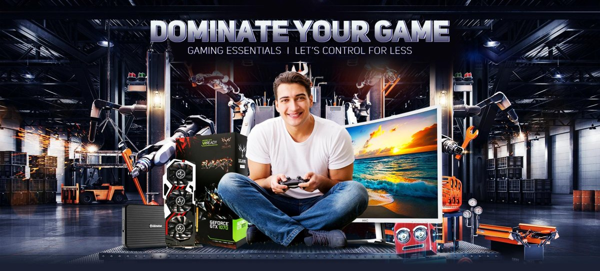 DOMINATE YOUR GAME su Gearbest!