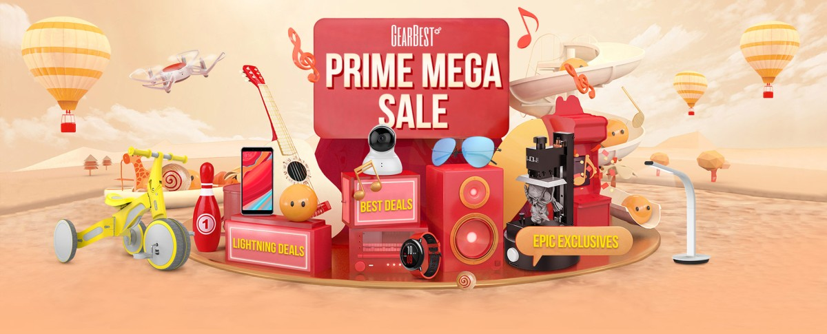 GEARBEST PRIME MEGA SALE DAY!