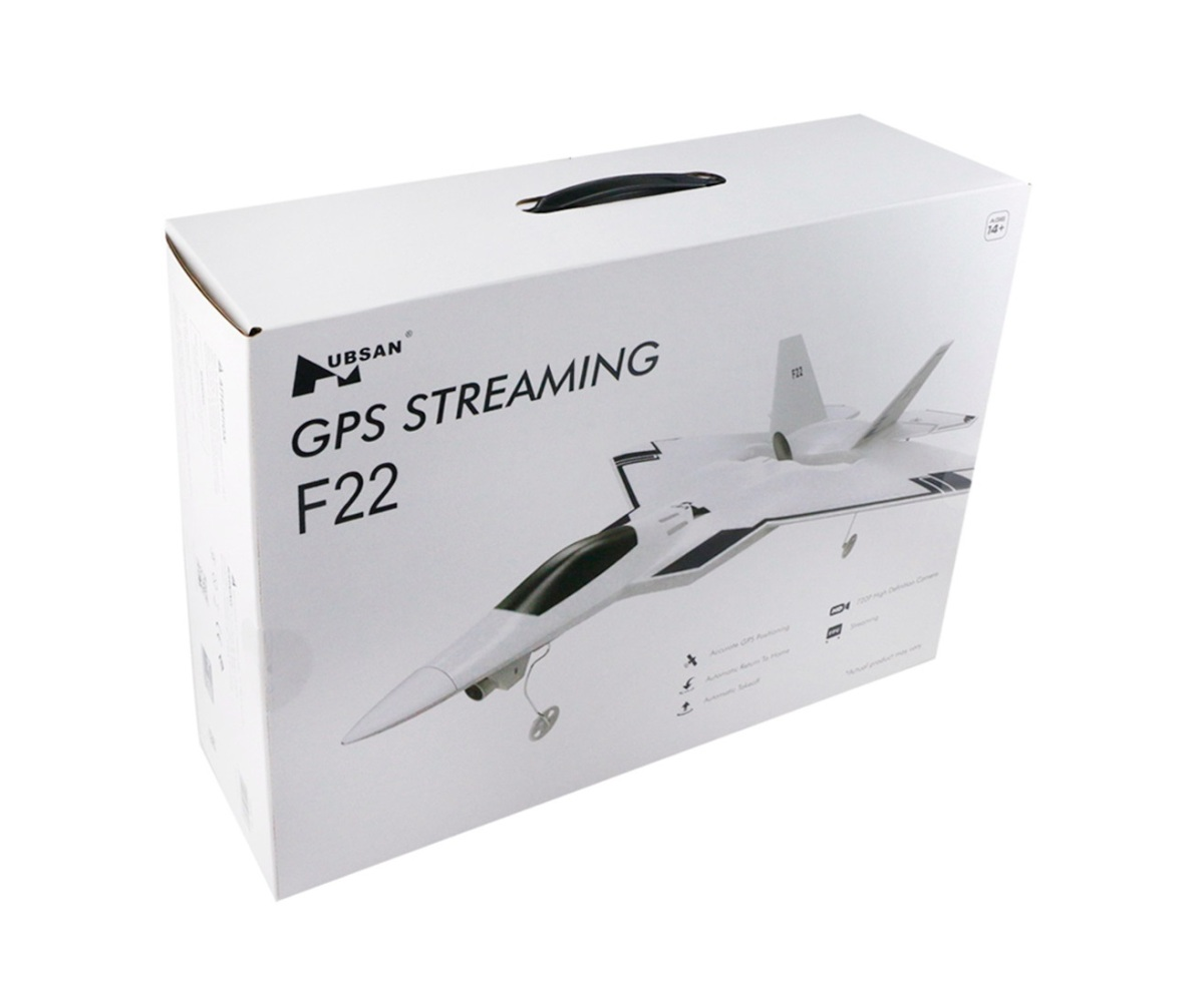 HUBSAN F22! Su GEARBEST!